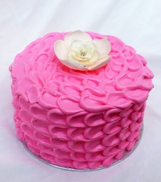 workshop petal cake